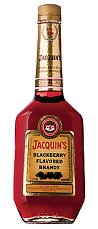 Jacquin Blackberry Flavored Brandy 70@